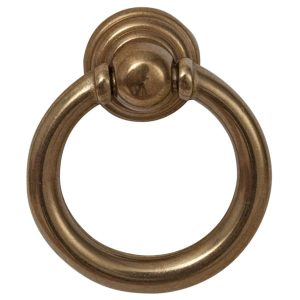 polished brass cabinet drop ring handles inc