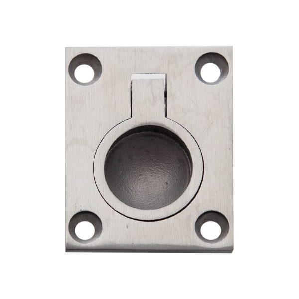 brushed stainless steel flush ring handles inc