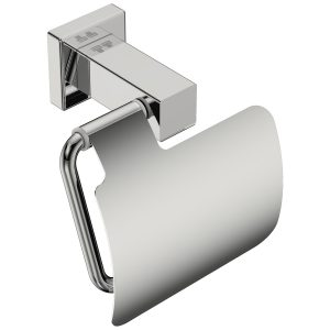 polished stainless steel square toilet roll holder handles inc