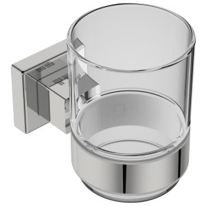 polished stainless steel square toothbrush tumbler handles inc