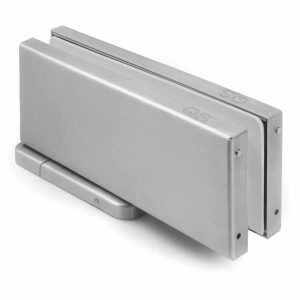brushed stainless steel patch fitting door closer handles inc