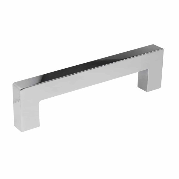 Polished chrome contemporary cabinet handle Handles Inc