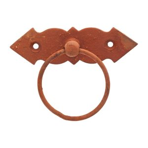 rust cabinet drop ring handles inc