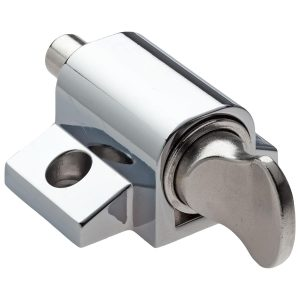 polished chrome keyless push lock handles inc