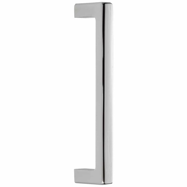 polished chrome square cabinet handle handles inc