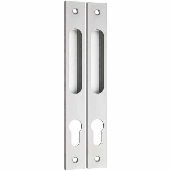 natural anodised flush handle handles inc