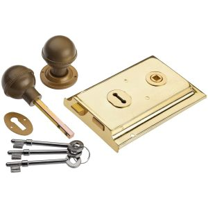 brass rim lock handles inc