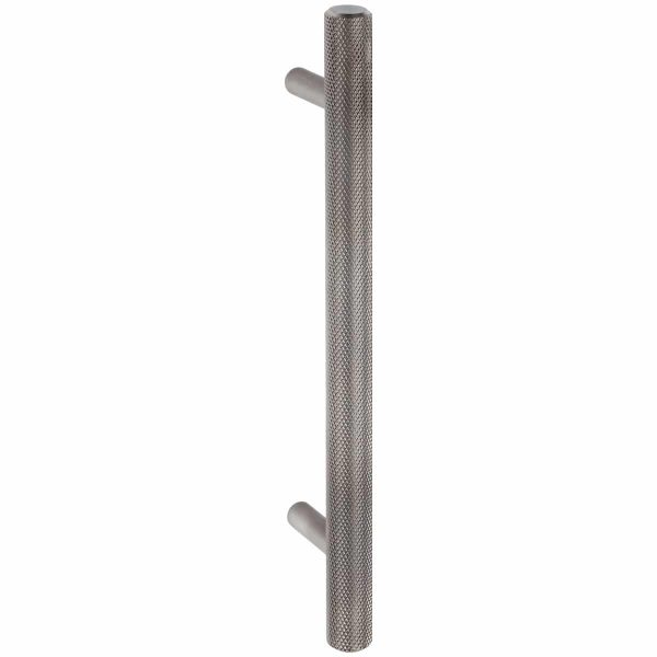 brushed stainles steel knurled cabinet T handle handles inc