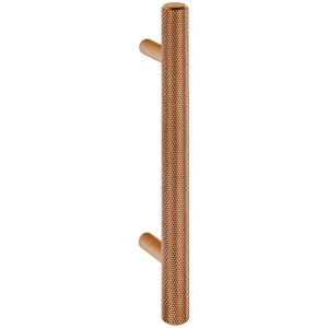 rose gold knurled cabinet T handle handles inc