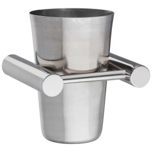 brushed stainless steel tumbler handles inc