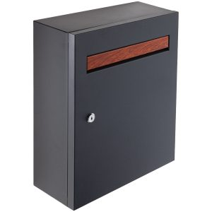 black stainless steel postbox handles inc