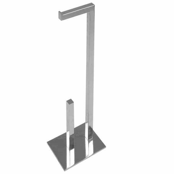 polished stainless steel roll holder freestanding handles inc