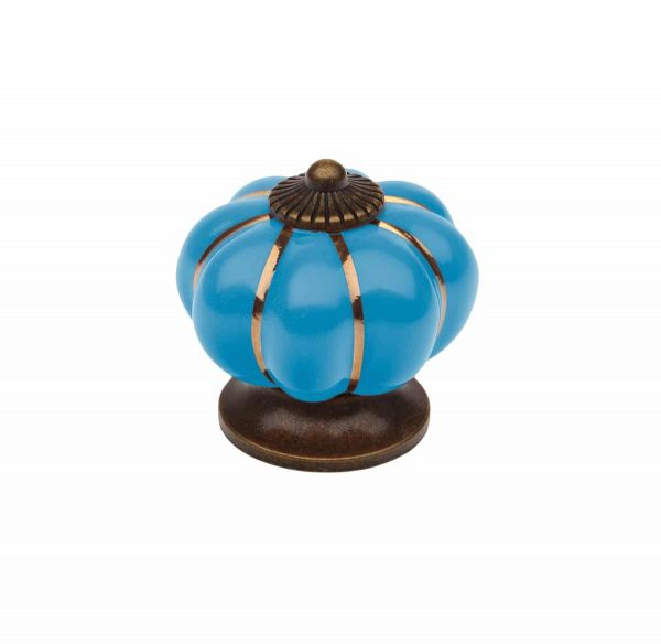 blue pumpkin knob handles inc