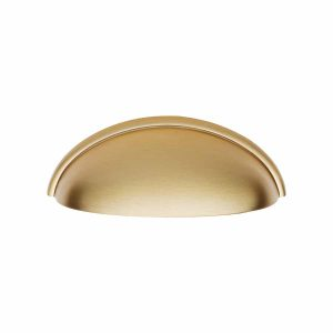 satin brass cup handle handles inc