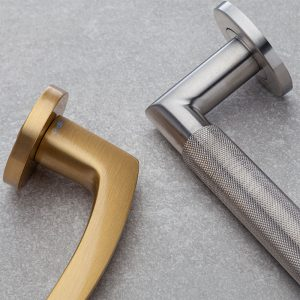 Lever Handles on Rose